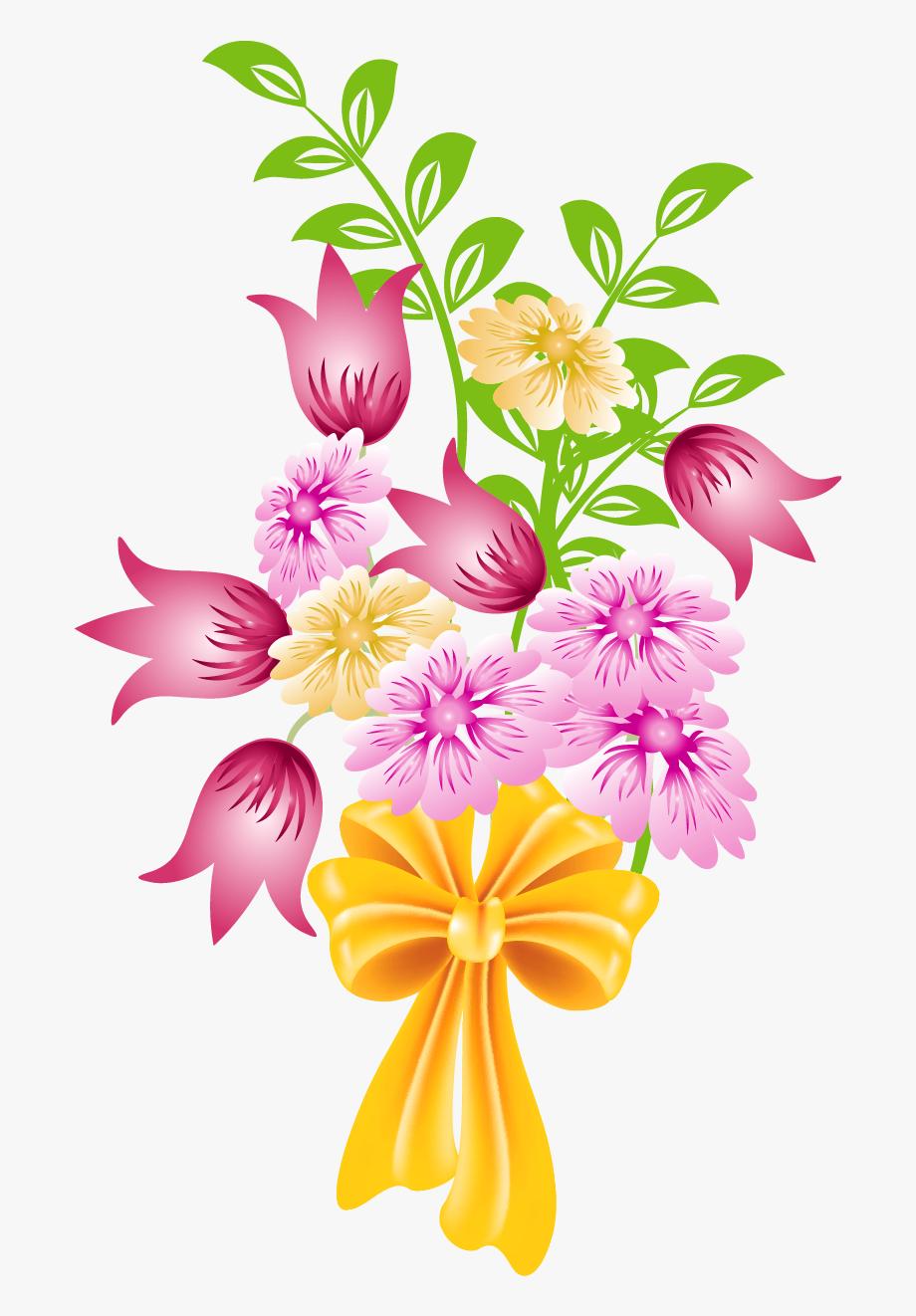 Floral Clipart Bunch