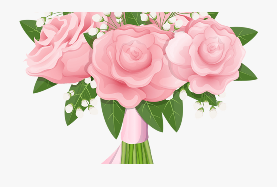 Realistic Flower Bouquet Svg Black And White Library