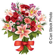 Bouquet Illustrations and Clipart