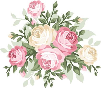 Flower bouquet clip art free vector download