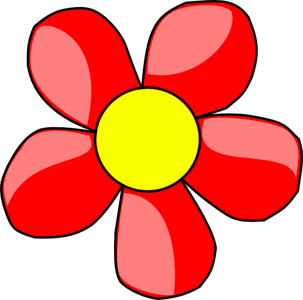 Free Images Of Cartoon Flowers, Download Free Clip Art, Free