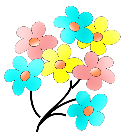 Flowers color png.