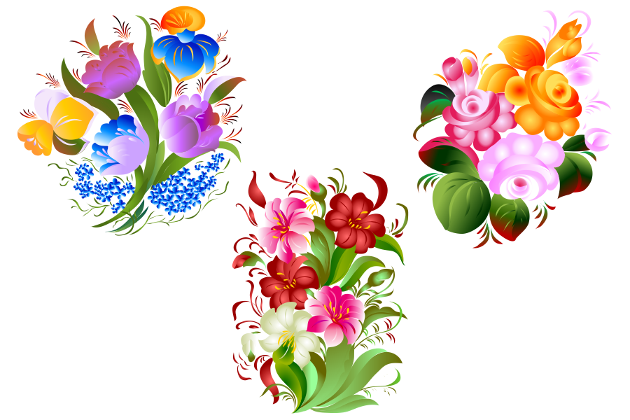 SVG and PNG files, Floral Design, Clipart, Vector, SVG, PNG, Elements