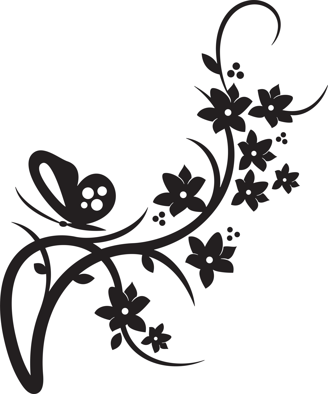 Free floral design.
