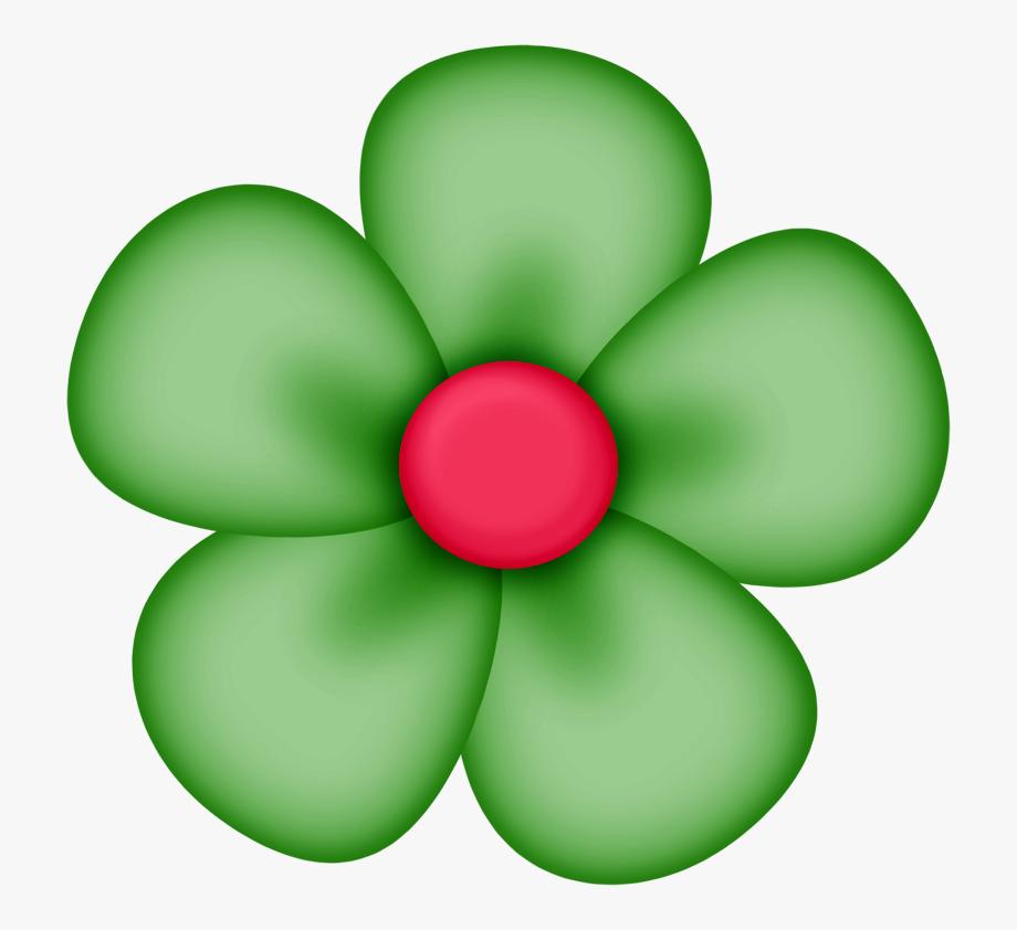 Flower Clipart Green