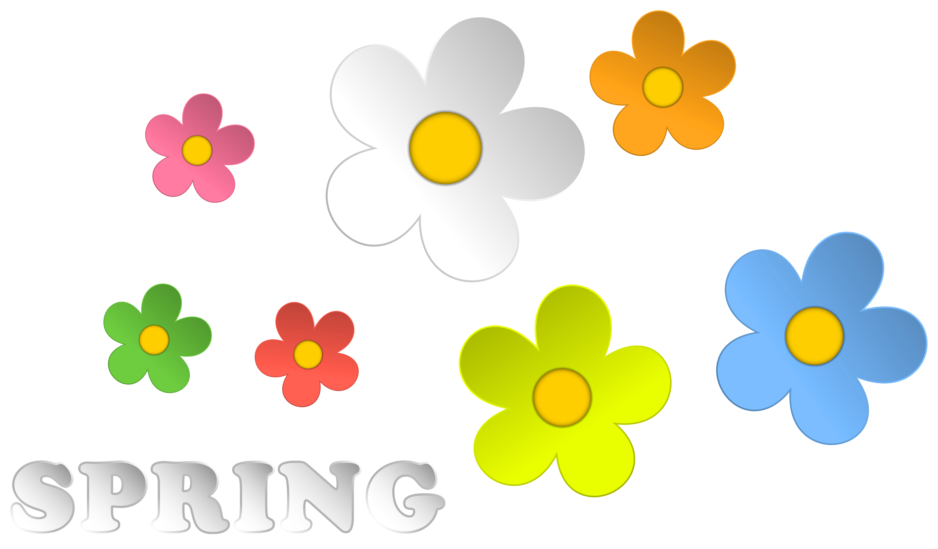 Free Free Spring Flower Clipart, Download Free Clip Art