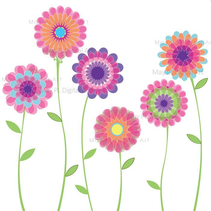 Spring flowers spring flower clipart free clipartfest
