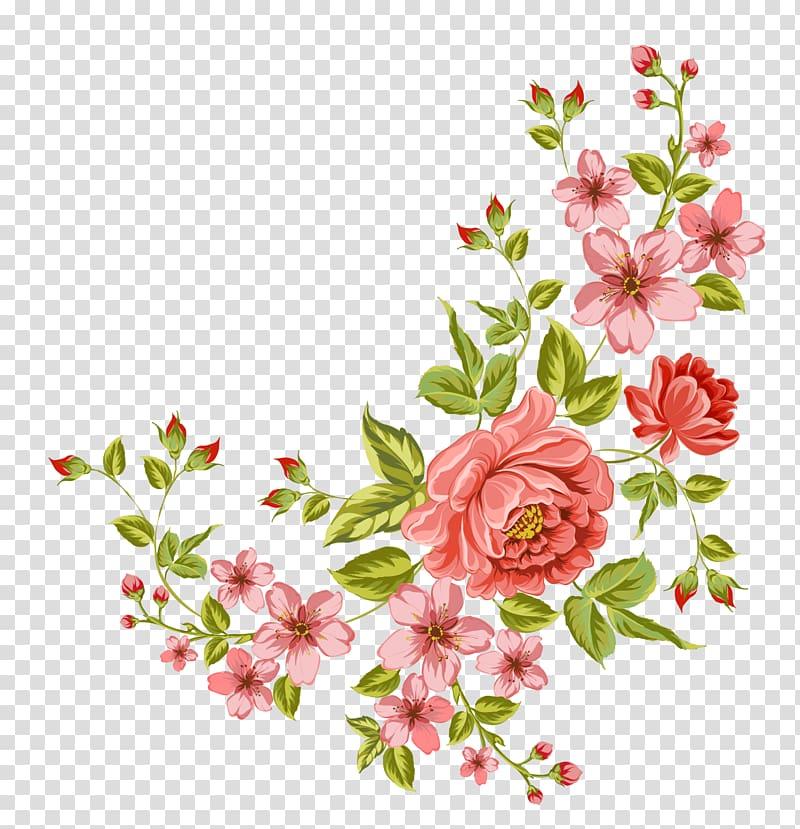 Flower corner flower.
