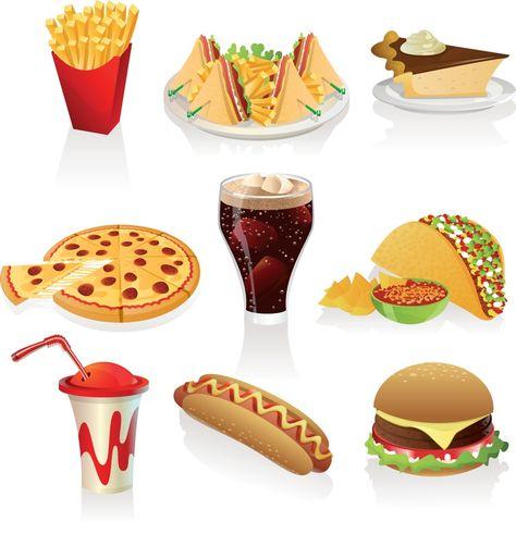 fast food clipart wallpaper