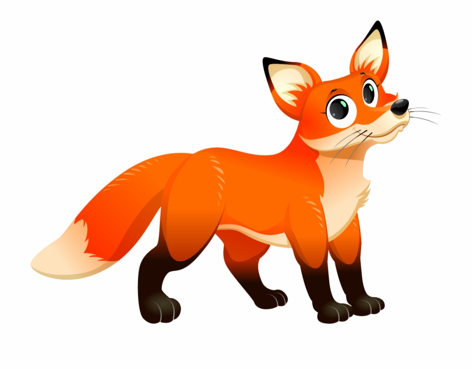 clipart fox transparent background