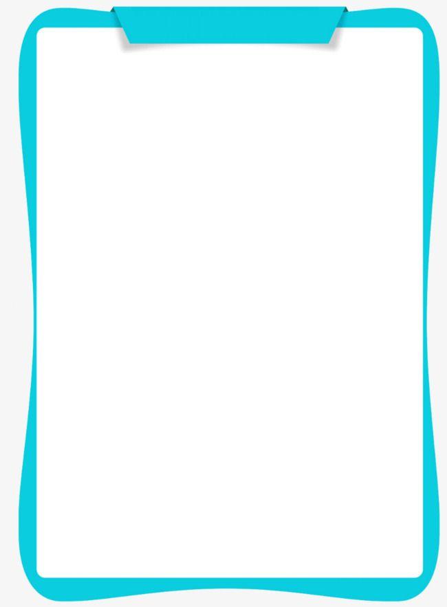 Blue frame frame.