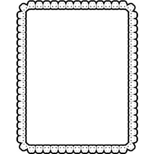 Free rectangle frame.