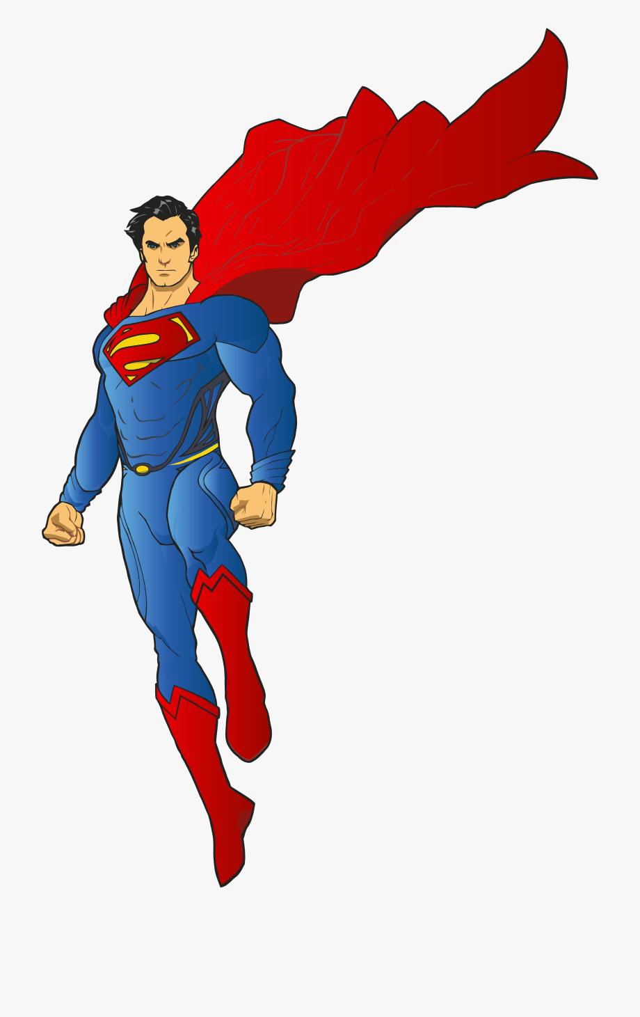 Super hero transparent.