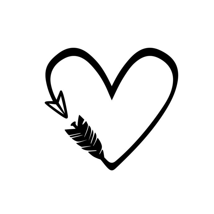 Heart arrow love.