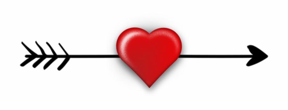 Arrow with heart.