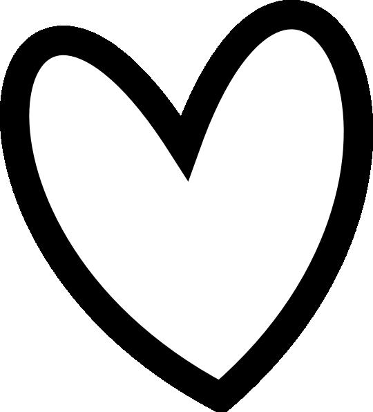 Black heart heart.