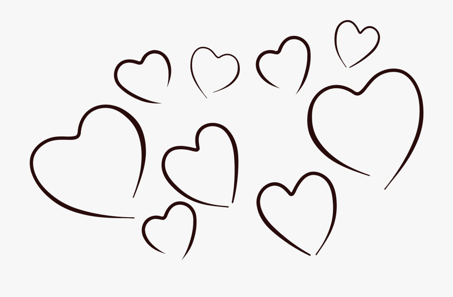 Heart Black And White Black And White Heart Clipart