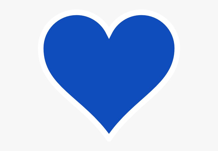 Blue heart designs.