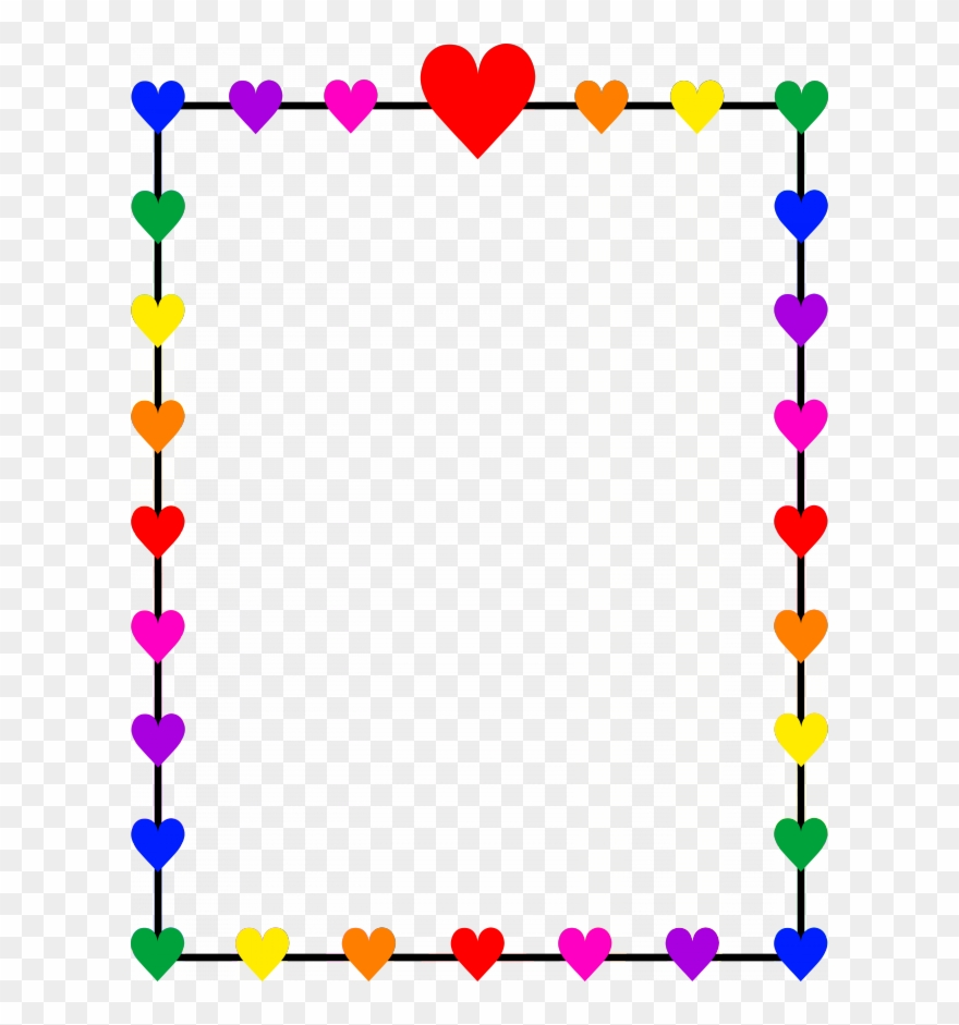 Download heart border.