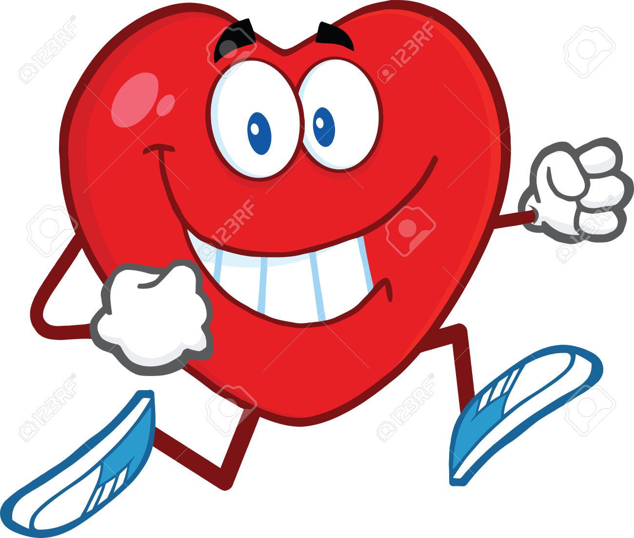 Heart clip art cartoon