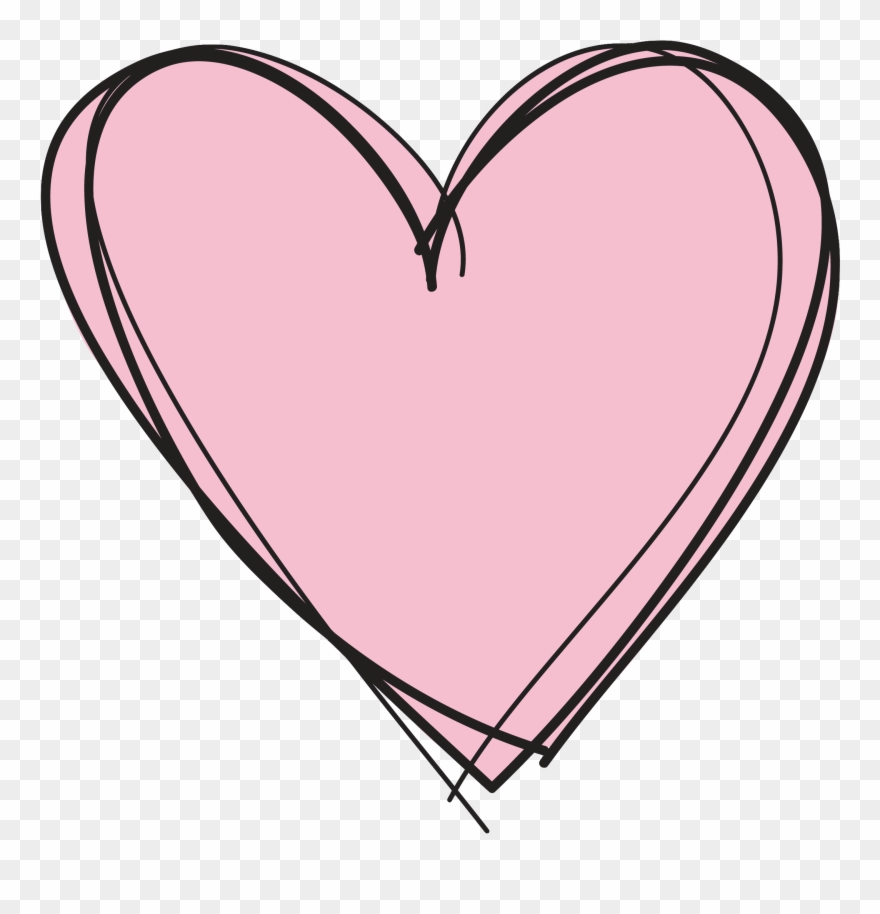 Pink Heart Clipart No Background