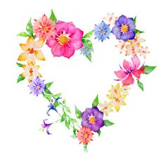 Free flower heart.