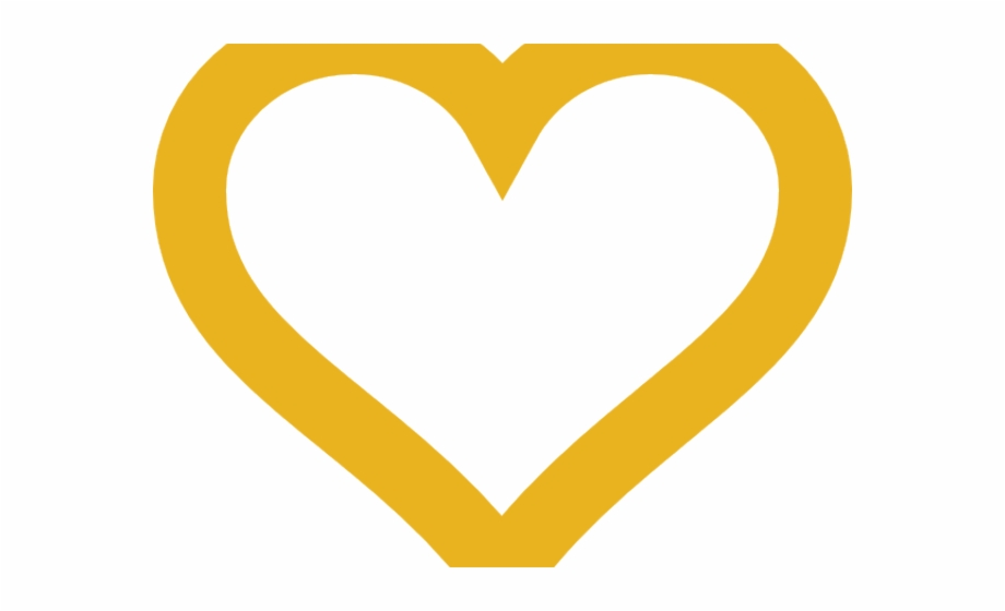 Gold Heart Clipart