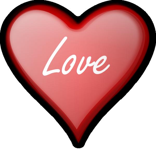 Love heart clip.