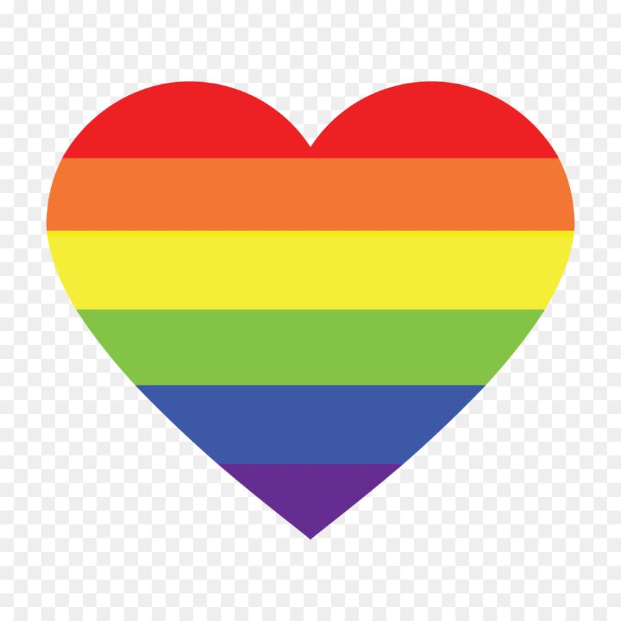 Rainbow Heart clipart