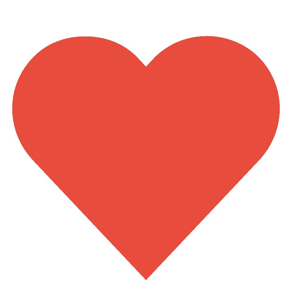 Dark Red Heart Transparent Background