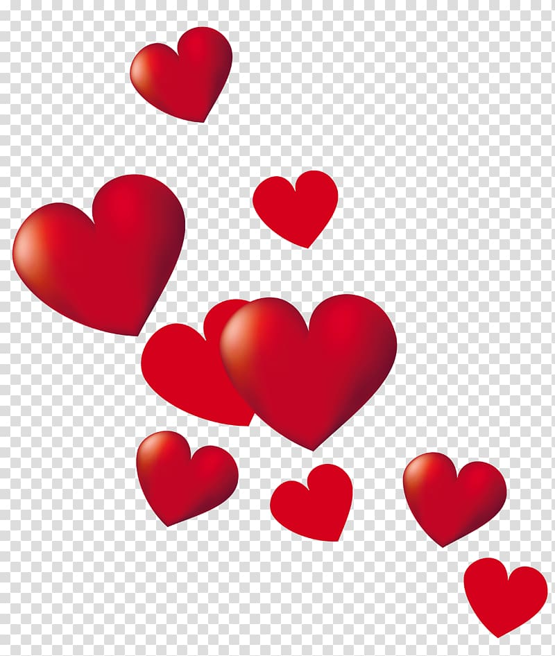 Heart , Hearts , red heart poster transparent background PNG