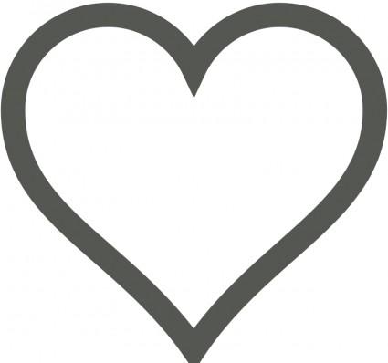 Heart vector clipart.