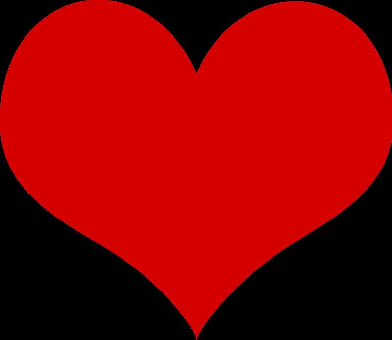 Free vector hearts.