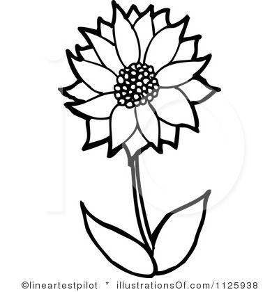 Flower clipart lineartestpilot.