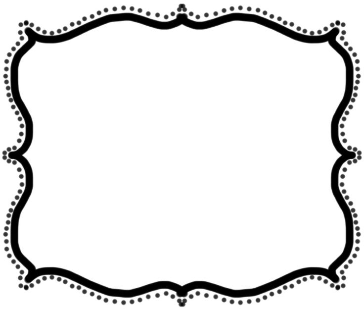 Clipart frame free.