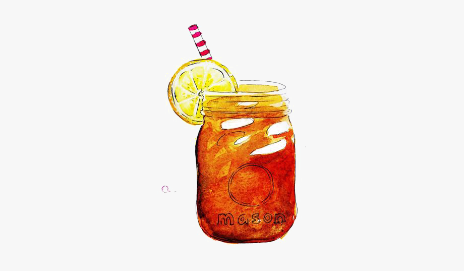 Drink drawing iced.