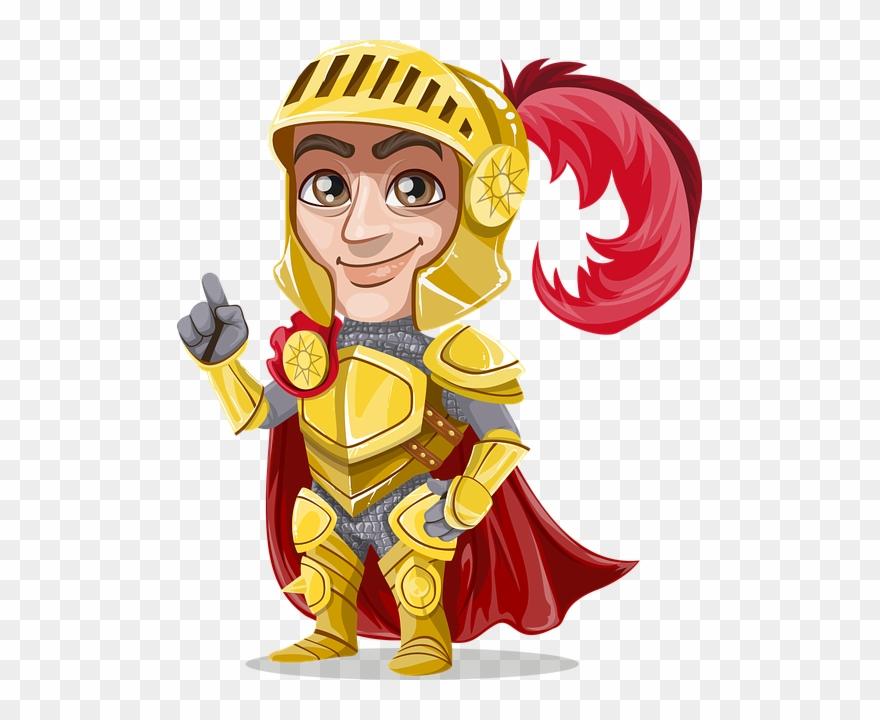 Knight, Gold, Golden, Metal, Emblem, Majestic, Royal