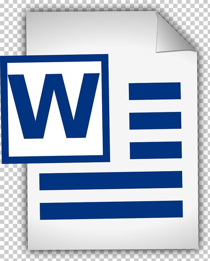 Microsoft Word Document PNG, Clipart, Area, Blog, Blue