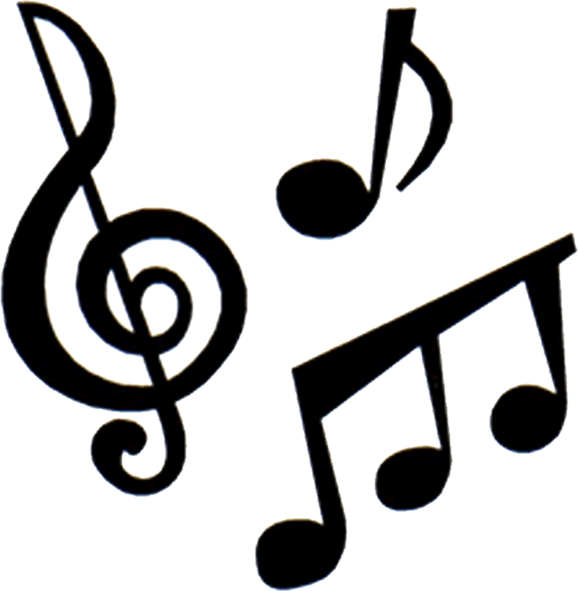 Music transparent clipart library