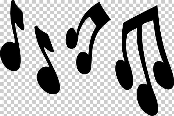 Musical note cartoon.