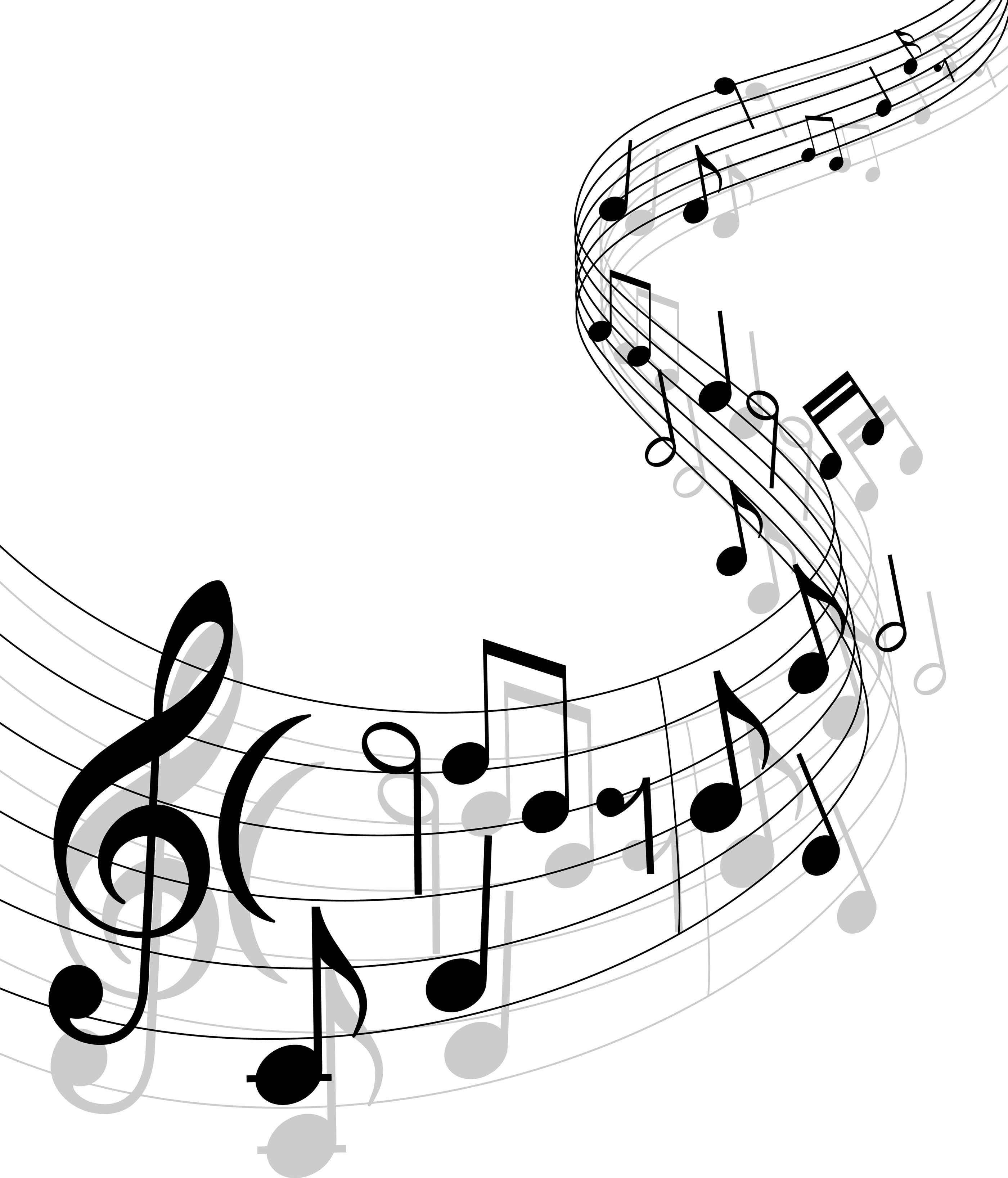 Music notes musical.
