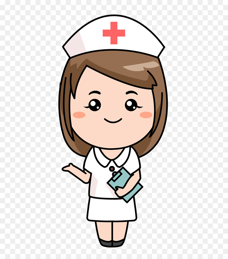 Nurse cartoon.