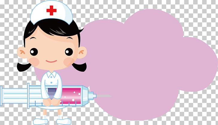 Nursing syringe nurse.