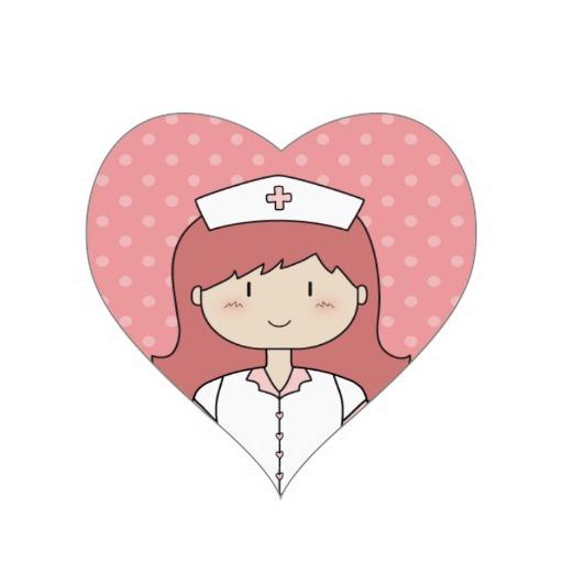 Cute cartoon nurse.