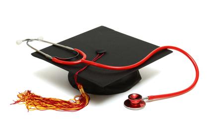 Nursing school graduation.
