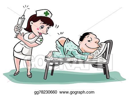 Vector art nurse.