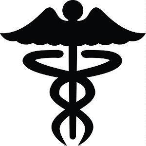 Nurse silhouette clipart.
