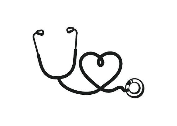 Nurse stethoscope clipart.