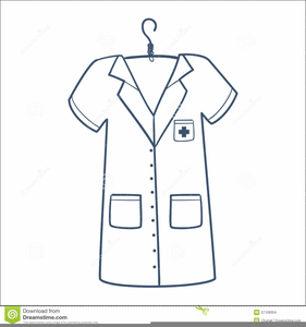 Nurse uniform clipart.