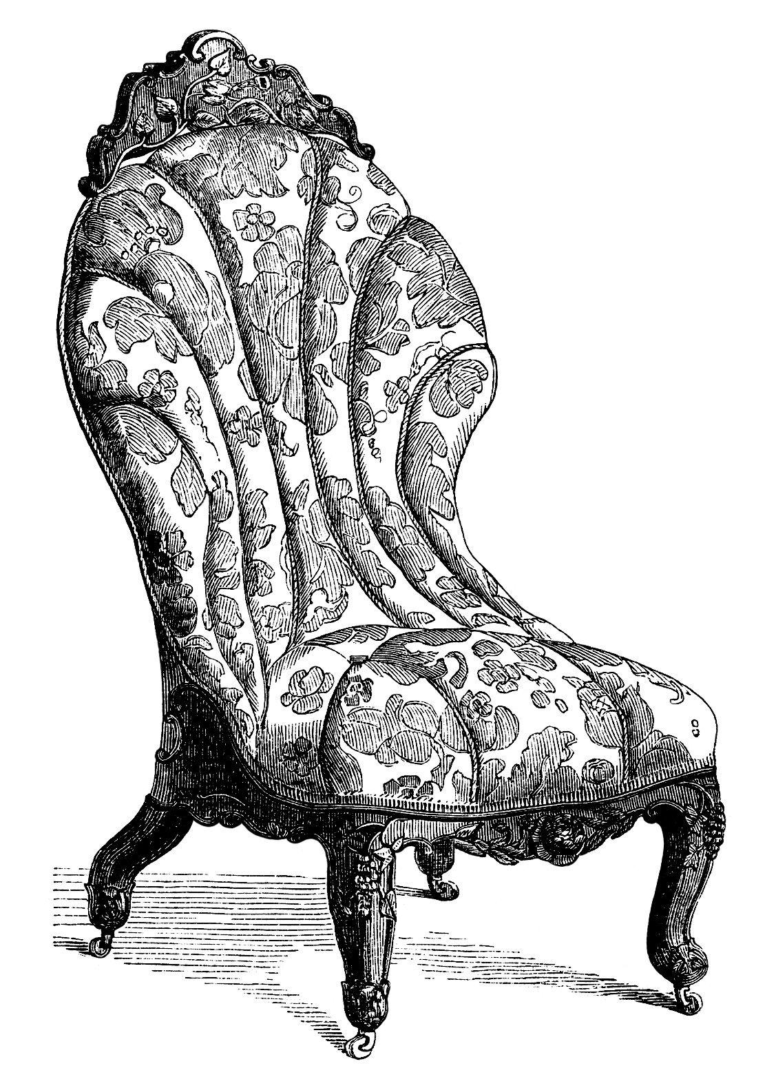clipart of furniture sofa set